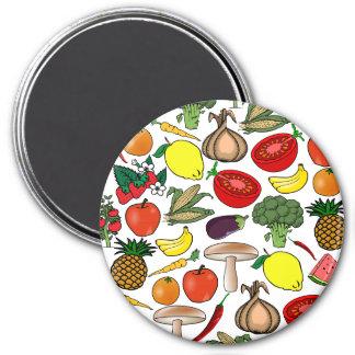 Fruits & Veggies magnet, large