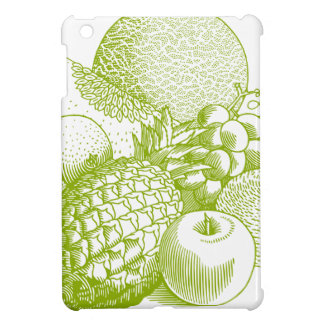 Fruits vintage food healthy retro iPad mini case