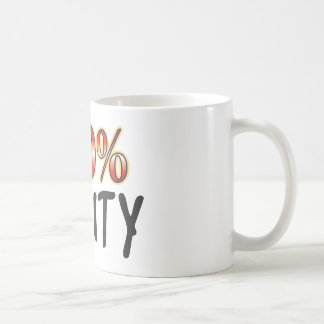 Fruity 100 Percent Coffee Mug