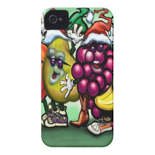 Fruity Christmas iPhone 4 Cases