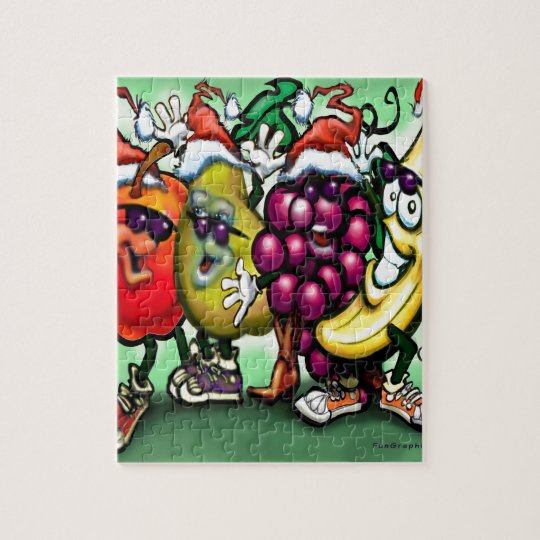 Fruity Christmas Jigsaw Puzzle