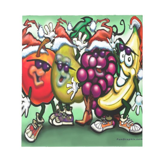 Fruity Christmas Notepad