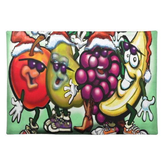 Fruity Christmas Placemat