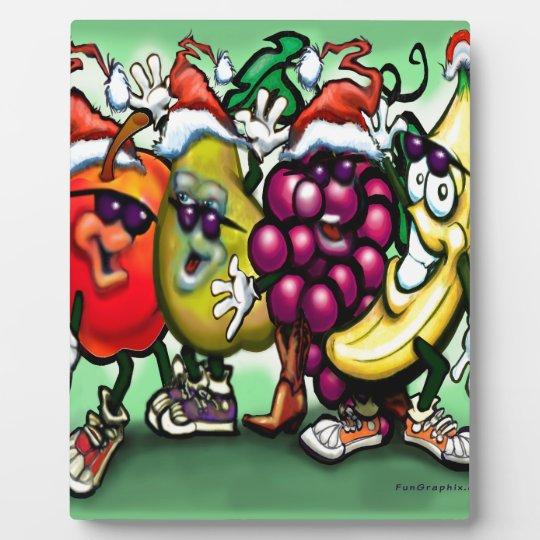 Fruity Christmas Plaque