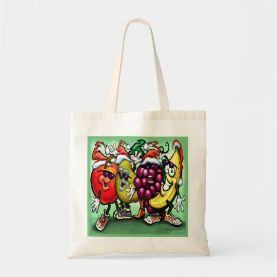 Fruity Christmas Tote Bag