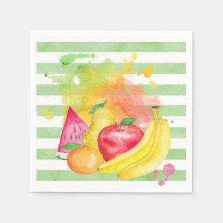 Fruity Disposable Serviette