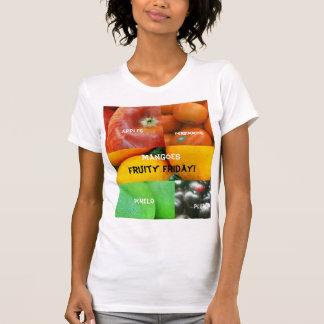 Fruity Friday! Womens fine jersey top T Shirt