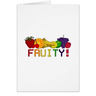 Fruity Fruit! Greeting Card
