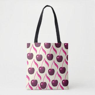 Fruity Fun Cherries and Cream Tote Bag