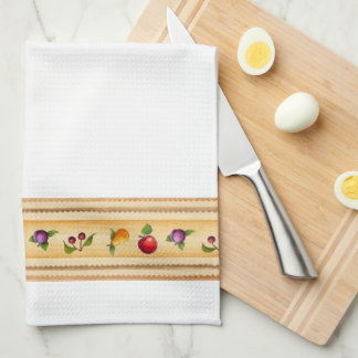 Fruity - Gold Kitchen Towel