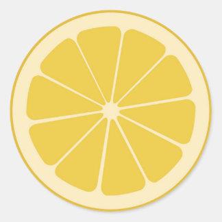 Fruity Lemon Sticker