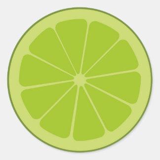 Fruity Lime Sticker