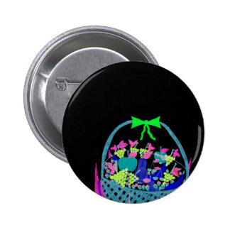 fruity night pinback button