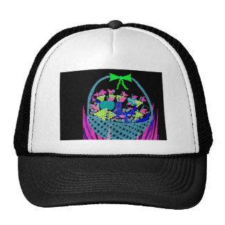 fruity night trucker hat