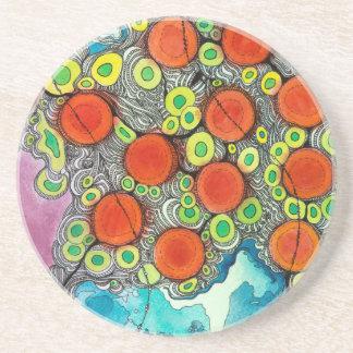 Fruity Phone Beverage Coasters