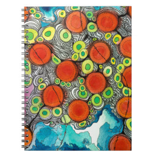 Fruity Phone Note Books