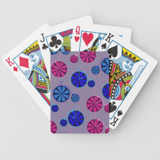 Fruity ride pattern bicycle playing cards