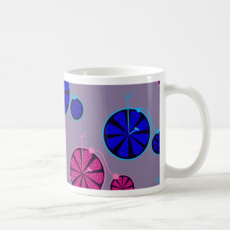 Fruity ride pattern coffee mug