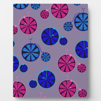 Fruity ride pattern plaque