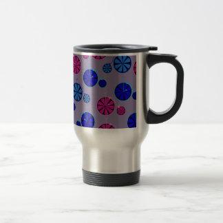 Fruity ride pattern travel mug