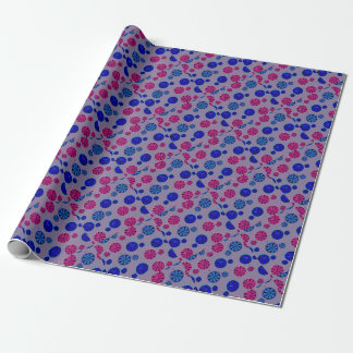 Fruity ride pattern wrapping paper