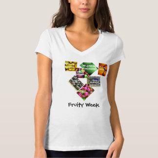 Fruity Week Tops for Women. T Shirts