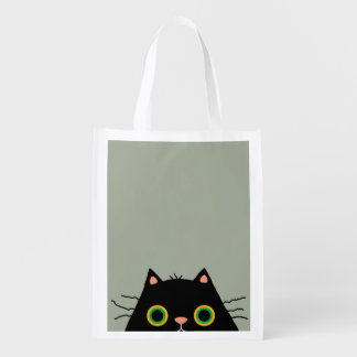 Frumpy Cat Reusable Grocery Bag