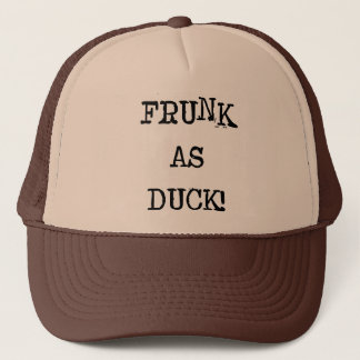 Frunk As Duck Trucker Hat