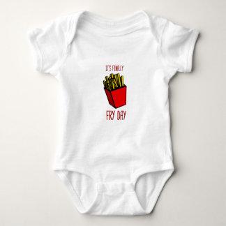 Fry Day Baby Bodysuit