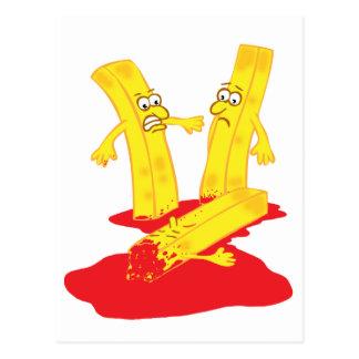 Fry Death Postcard