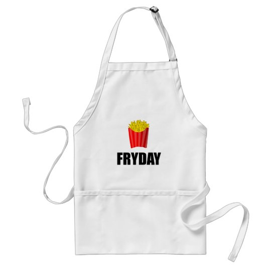 Fryday Friday Fries Standard Apron