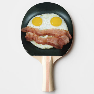 Frying Pan with Bacon and Eggs