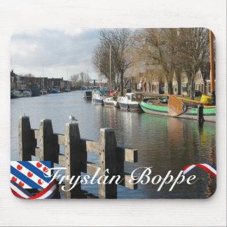 Fryslân Boppe Frisian Canal Mousepad