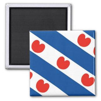 Fryslan, Friesland Frisian Flag Fridge Magnet