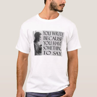 FSF Writing Quote T-Shirt