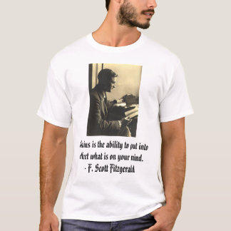 fsfitz2, Genius is the ability to put into effe... T-Shirt