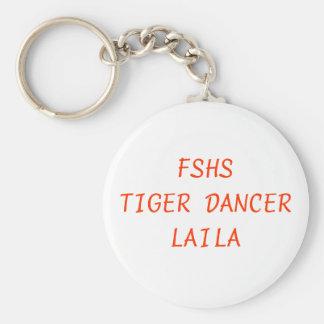 FSHS TIGER DANCER KEY RING