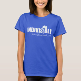 FT LAUDERDALE Indivisible - women's t-shirt - wht