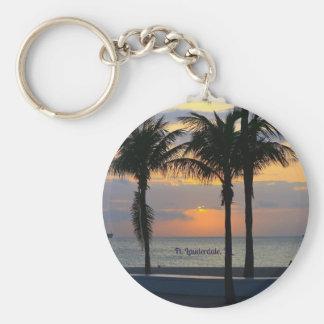 Ft. Lauderdale Sunrise Key Ring