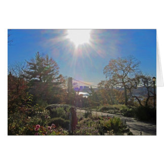 Ft. Tryon Park Sun 5x7 Card