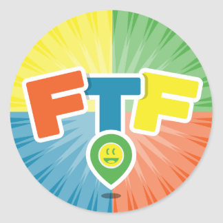 FTF (First to Find) Swag Round Sticker
