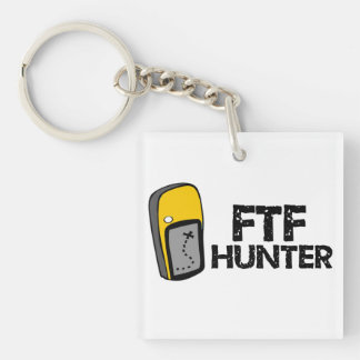 FTF Hunter Geocaching Keychain