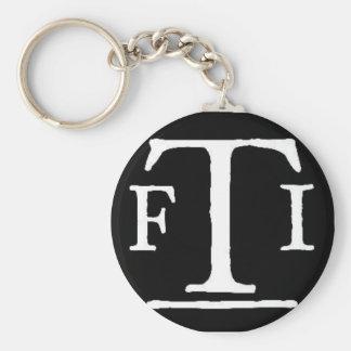 FTI logo 2 Key Ring