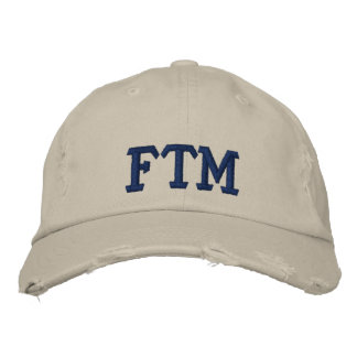 FTM EMBROIDERED BASEBALL CAPS