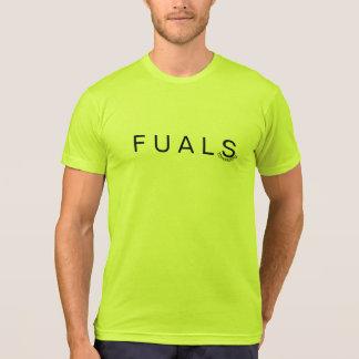 FU ALS F U ALS Mens Neon  shirt