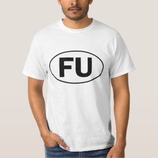 FU Oval Identity Sign T-Shirt
