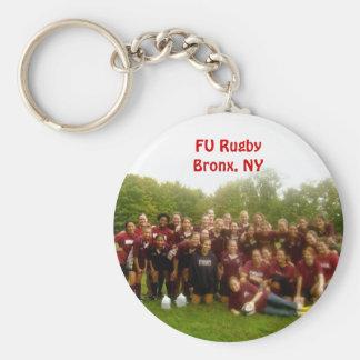 FU Rugby Keychain