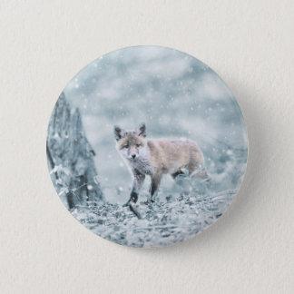 fuchs 6 cm round badge