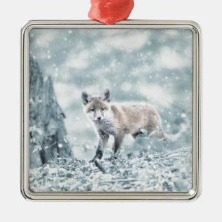 fuchs metal ornament