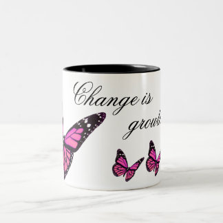 Fuchsia Butterfly Coffee Mug